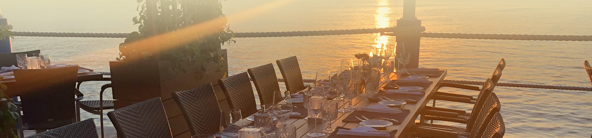 Corporate Events Testimonials Banner - The Wharf Restaurant & Bar