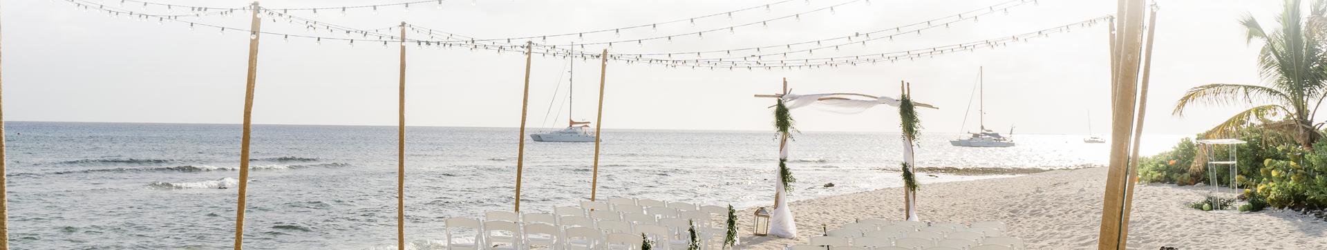 Wedding At The Wharf Banner - The Wharf Restaurant & Bar