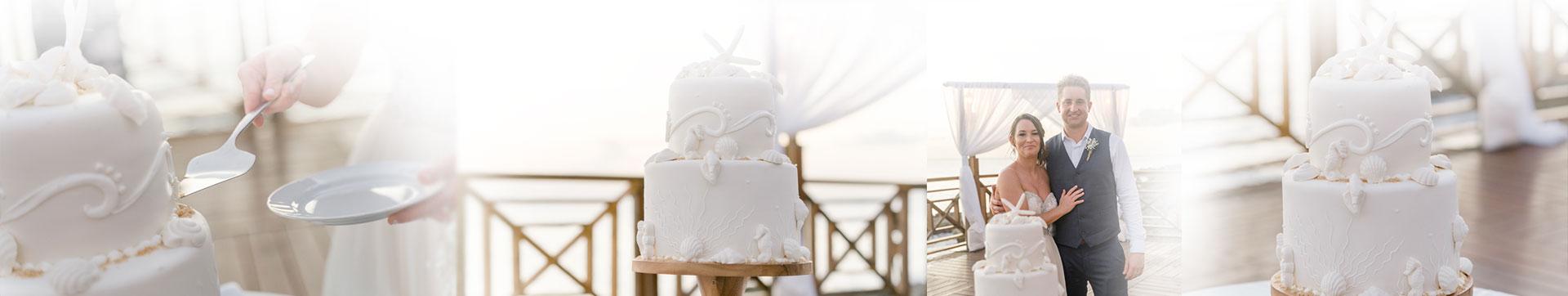 Wedding Cakes Gallery Banner - The Wharf Restaurant & Bar