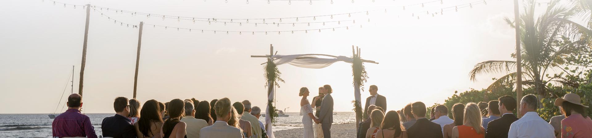 Wedding Inquiry Banner - The Wharf Restaurant & Bar