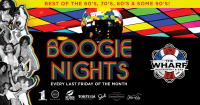 Boogie Nights Event at The Wharf Restaurant