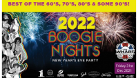 NEW YEARS 2022 on the Waterfront at The Wharf