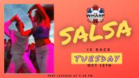 Salsa Tuesday Event at The Wharf Restaurant