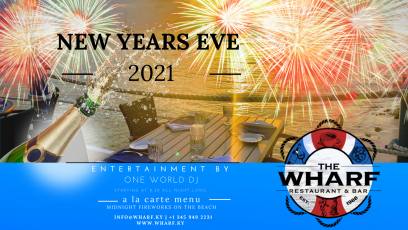 NEW YEARS 2021 on the Waterfront at The Wharf