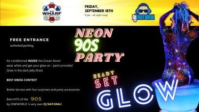 90s Glow Party at The Wharf