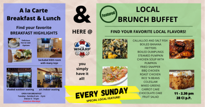 featured LOCAL BRUNCH BUFFET