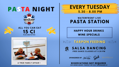 Pasta Night at The Wharf