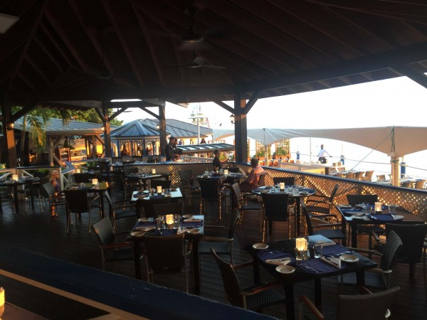 Decorate Outdoor Dining Area for your Event - The Wharf