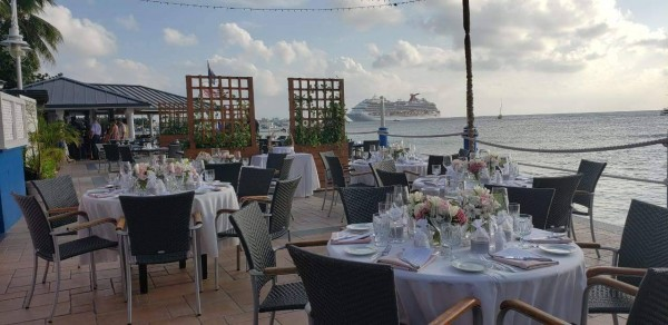 Semi-private Dining in Cayman - The Wharf Restaurant