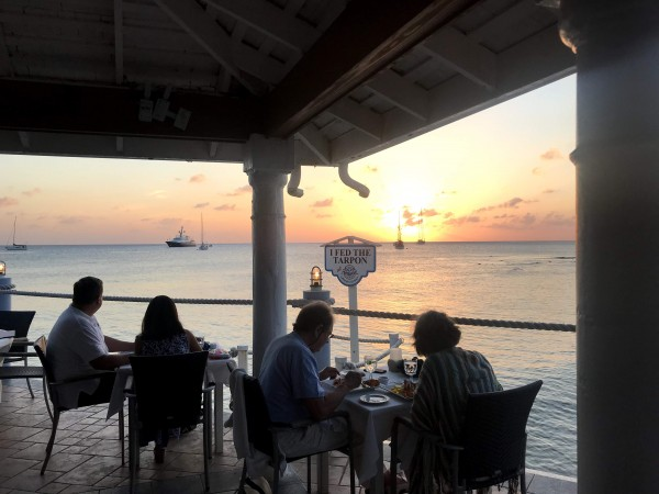Waterfront dining in Grand Cayman - The Wharf