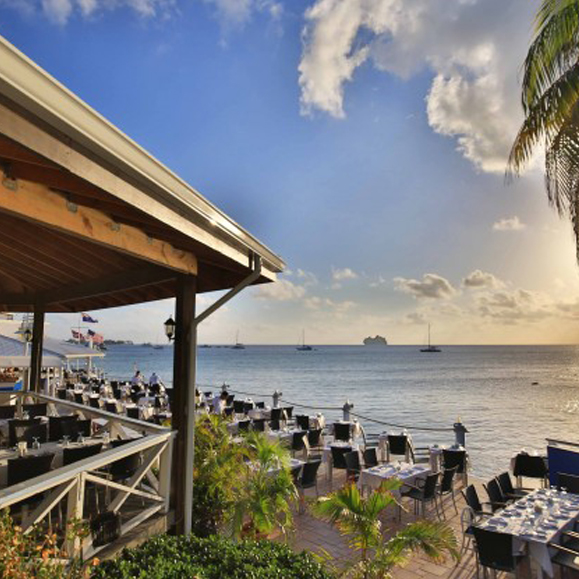 Waterfront Dining in the Cayman Islands - The Wharf