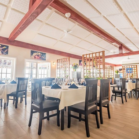 Indoor Dining Room in the Cayman Islands Image 11