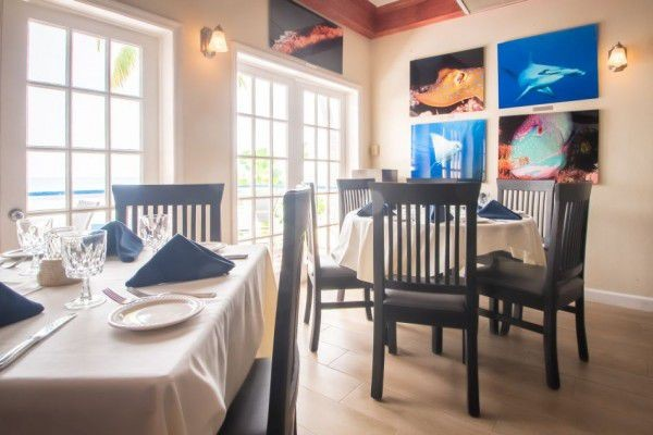 Indoor Dining Room in the Cayman Islands Image 3