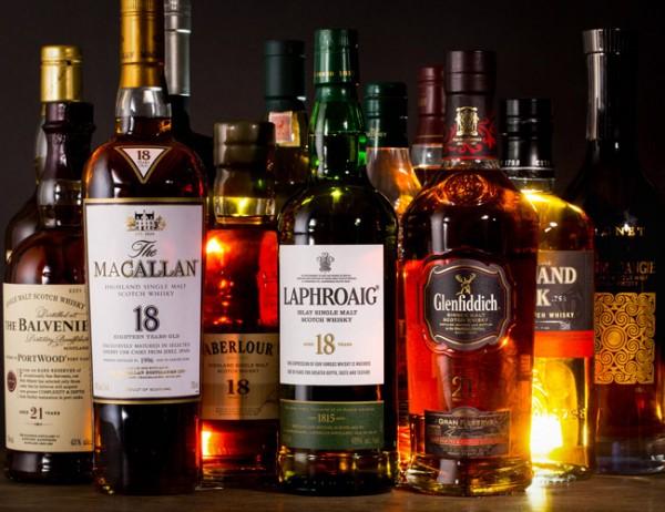 Whisky Menu