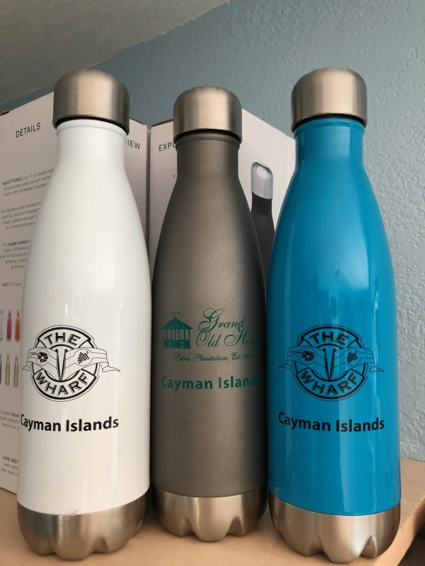 Insolated Water Bottle - MUST HAVE on the island and to help saving the environmentm