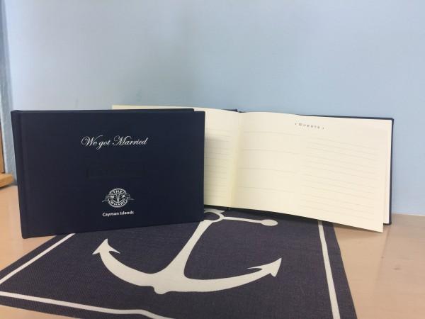 Wharf Wedding Guest Book
