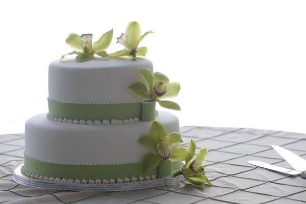 A  Wedding Cake, Prepared in the Wharf Restaurant