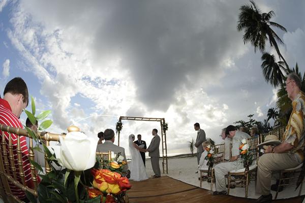 Cayman Islands Beach Wedding – The Wharf Restaurant