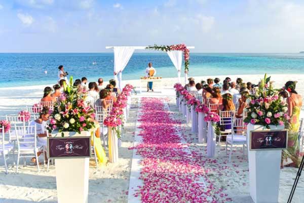Beach Wedding in the Cayman Islands