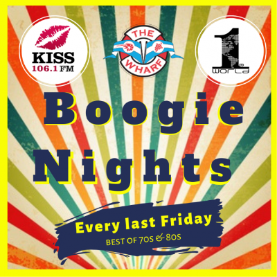 Accentuate Your Evenings with Boogie Nights at The Wharf
