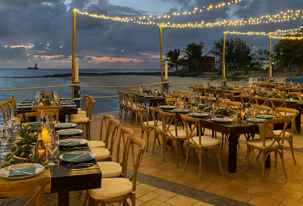 The Best Indoor and Outdoor Dining is at The Wharf