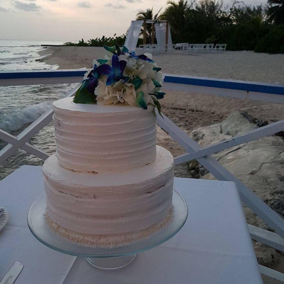 Wedding Cake Image 1 - The Wharf Restaurant