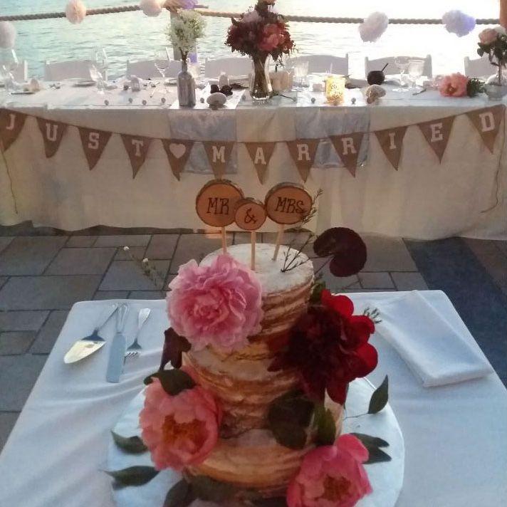 Wedding Cake Image 3 - The Wharf Restaurant